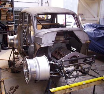 Chris Isaacs race cars